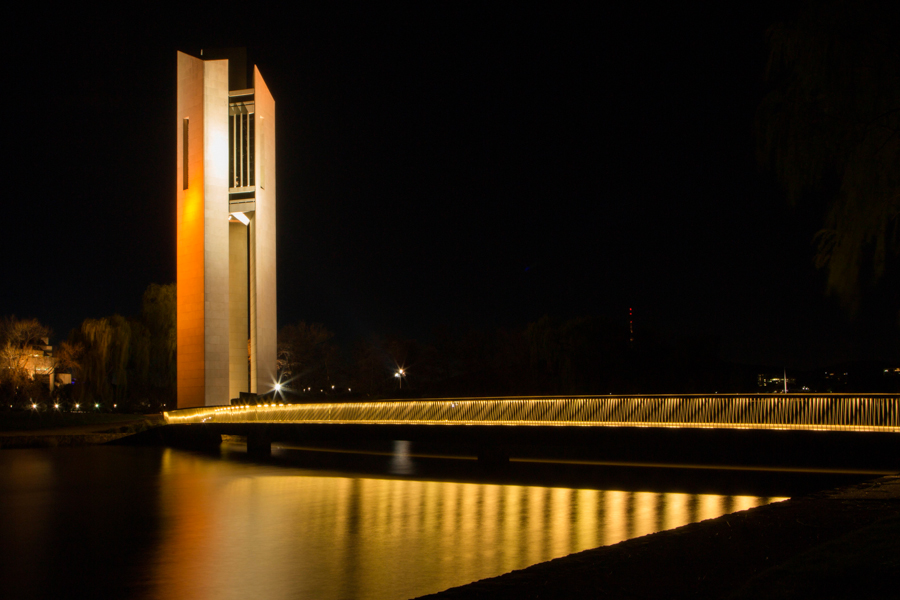 canberra sunset  night photography tour
